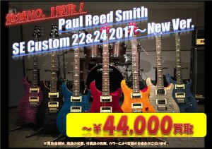 PRS SE Custom22.24 2017 New Ver